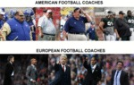 American Football Coaches Vs European Football...