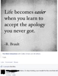 Life Becomes Easier When You Learn To Accept The..
