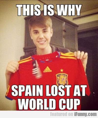This Is Why Spain Lost At The World Cup...
