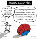 Realistic Spider-man - Oh Em Gee!