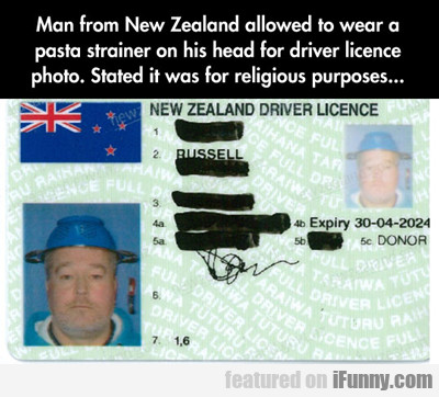 Man From New Zealand Allowed To...