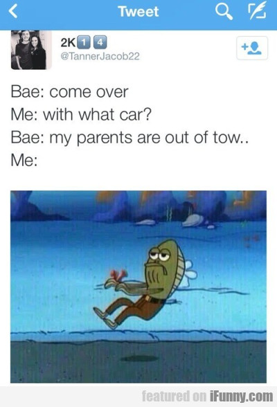 Come Over - With What Car? - My Parents Are..