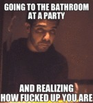 Going To The Bathroom At A Party...