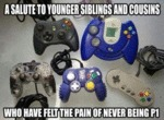 A Salute To Younger Siblings And Cousins...