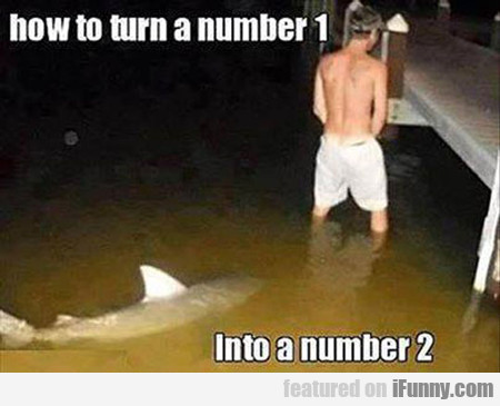 How To Turn A Number 1 Into A Number 2...