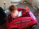 Teens Be Driving Like...