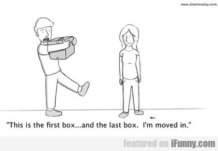 This Is The First Box... And The Last Box. I'm...