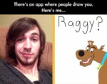 There's An App Where People Draw You...