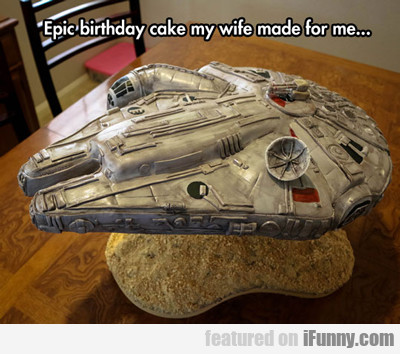 Epic Birthday Cake My Wife Made For Me...