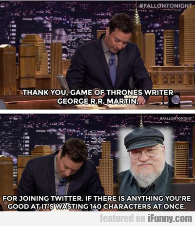 Thank You Game Of Thrones Writer...