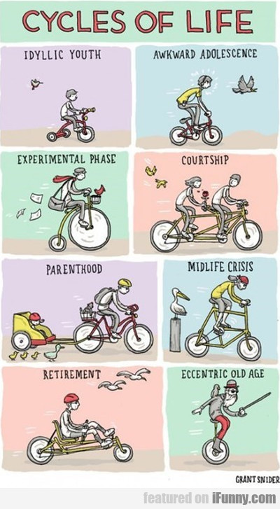 Cycles Of Life - Idyllic Youth - Awkward...