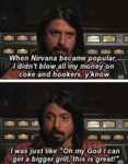 When Nirvana Became Popular...