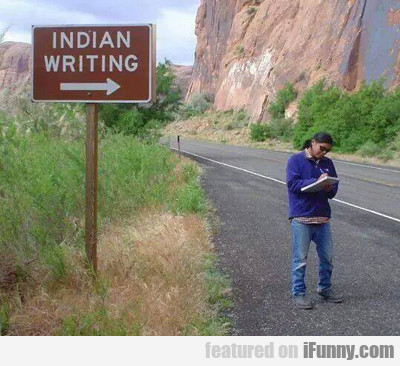 Indian Writing...