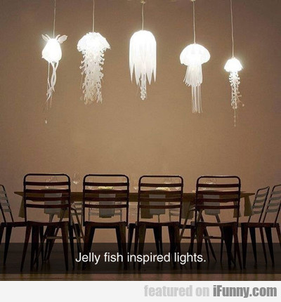 jelly fish inspired lights...