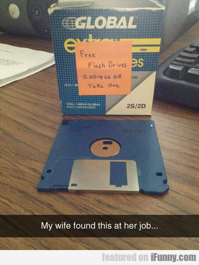 my wife found this at her job...