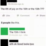 The 4th Of July On The 16th