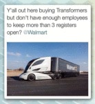Y'all Out Here Buying Transformers...