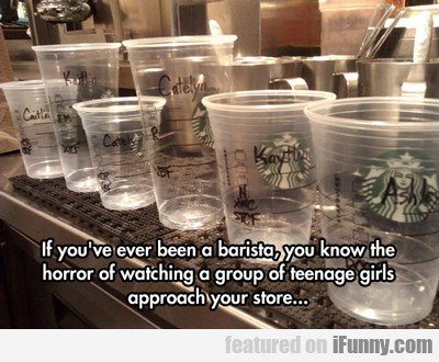 If You've Ever Been A Barista...