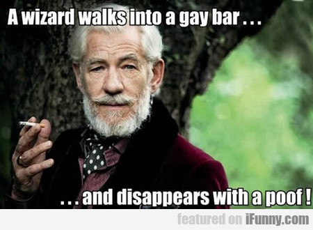 A Wizard Walks Into A Gay Bar...