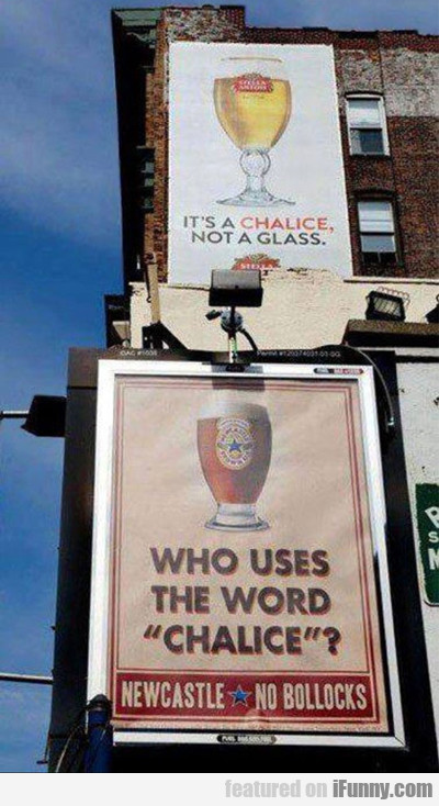 it's a chalice...