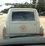 Pulled Up Behind A Hearse...