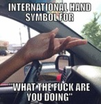 International Hand Symbol For...