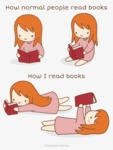 How Normal People Read Books...