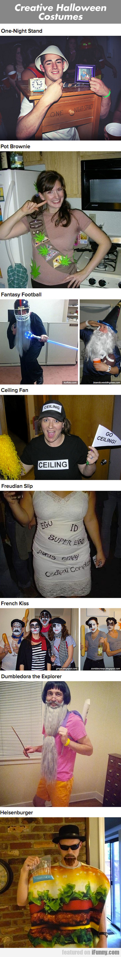Creative Halloween Costumes...