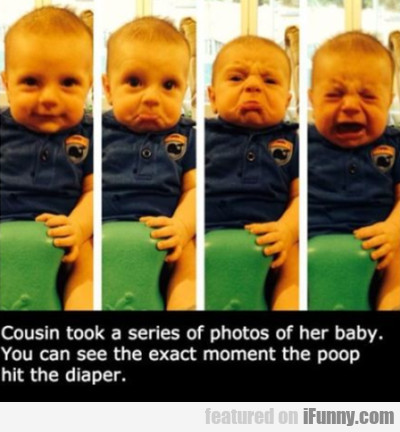 Cousin Took A Series Of Photos Of Her Baby. You...