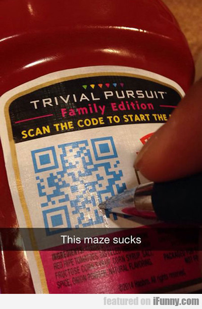 This Maze Sucks...