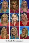 The Diversity Of Fox News Anchors...
