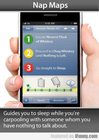 Nap Maps - Guides You To Sleep While You're....