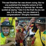 This Sad Brazilian Fan...