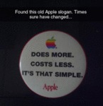 Found This Old Apple Slogan
