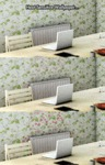Heat Sensitive Wallpaper...