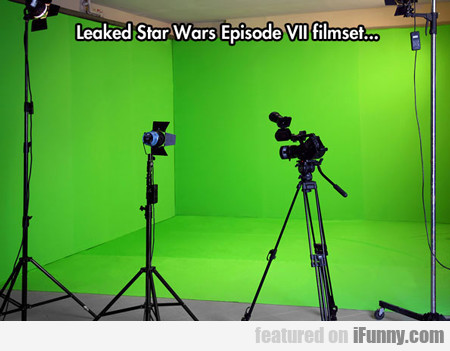 Leaked Star Wars Episode 7...