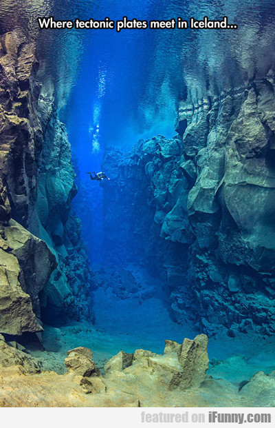 Where Tectonic Plates Meet...