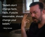 Beliefs Don't Change Facts...