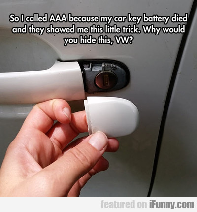 So I Called Aaa Because...