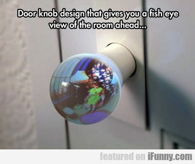 Door Knob Design That...