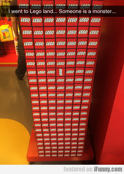 I Went To Lego Land...