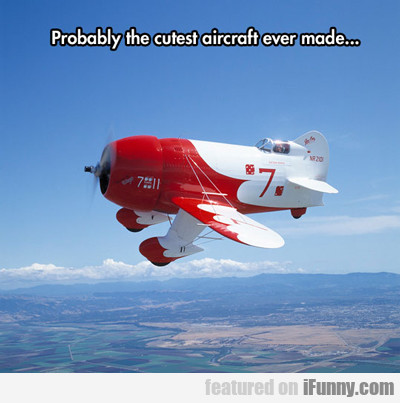 probably the cutest aircraft ever made...