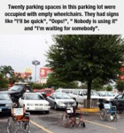 Twenty Parking Spaces...