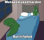 Metapod Used Harden But It Failed