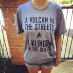 A Vulcan In The Streets...