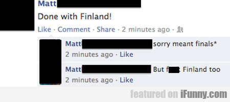 Done With Finland