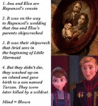 Anna And Elsa Are Rapunzel's Cousins...