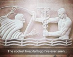 The Coolest Hospital Logo I've Ever Seen...
