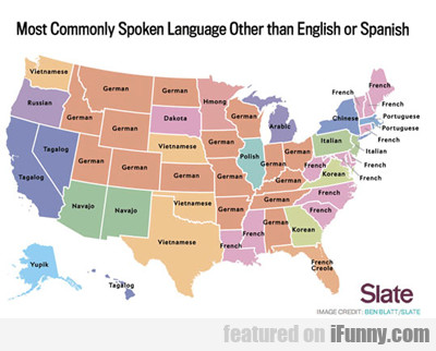 Most Commonly Spoken Language Other Than...