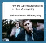 How Are Supernatural Fans Not Terrified Of...